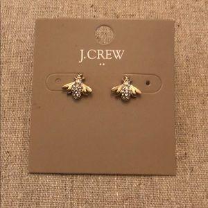 J Crew bumble bee earrings